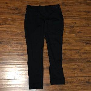 Eddie Bauer Black Side-Zip Stretch Dress Pants